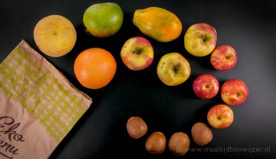 Fruitbox bij Ekomenu