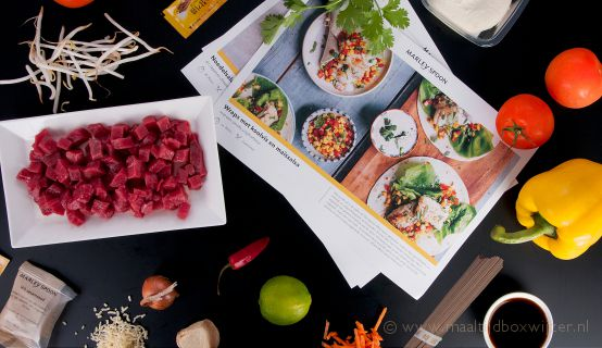 Marley Spoon maaltijdbox ingrediënten