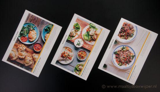 De receptkaarten van Marley Spoon