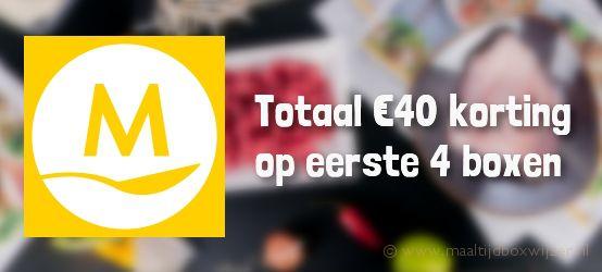 Marley Spoon €40 korting