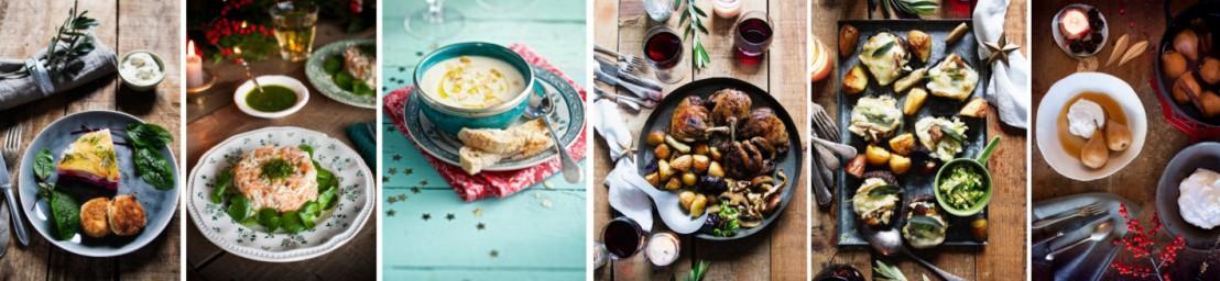 De gerechten in De Krat kerstbox