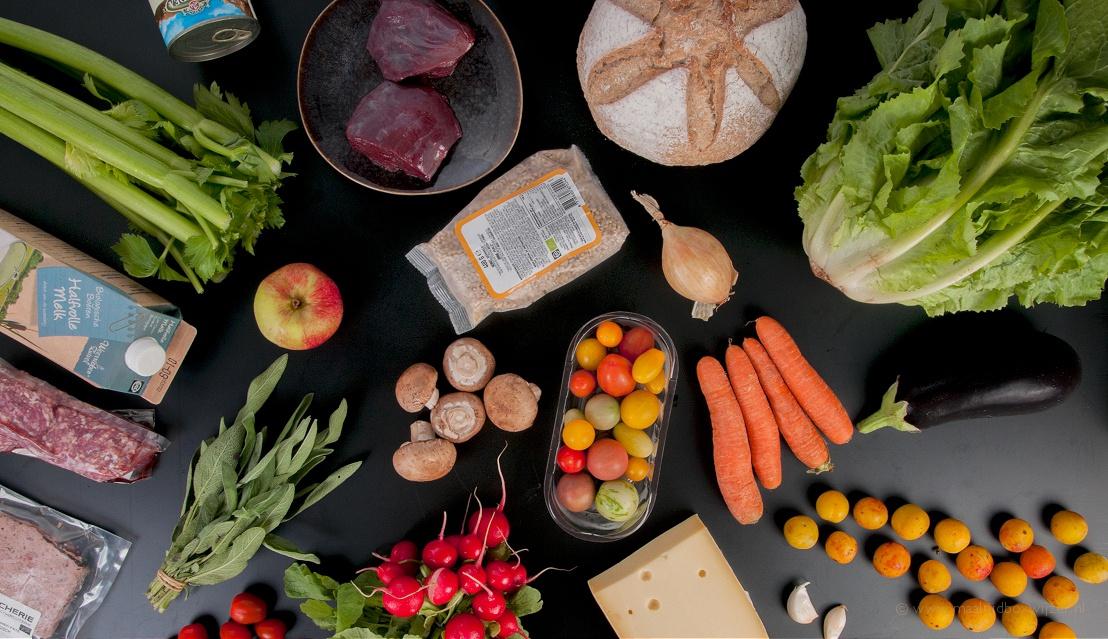 De ingrediënten uit de maaltijdbox van Willem&Drees