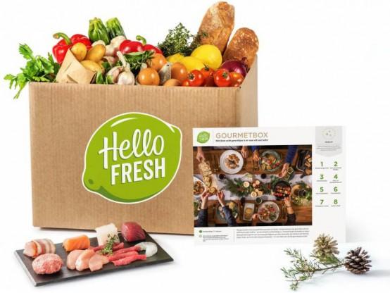 De HelloFresh Kerst gourmetbox