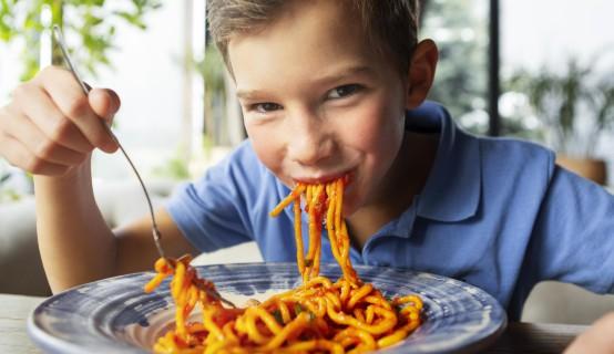Ook Dinnerly heeft kindvriendelijke gerechten